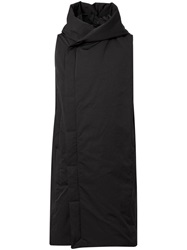 Rick Owens Feather Down Gilet Black
