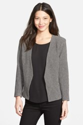Gibson Zip Pocket Textured Blazer Black