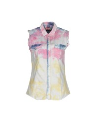 Met Denim Denim Shirts Women Pink