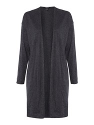 Therapy Olive Longline Knitted Cardigan Charcoal