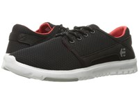 Etnies Scout W Black Grey Red Women's Skate Shoes Gray