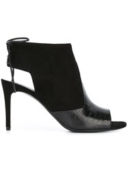 Saint Laurent Bootie Sandals Black