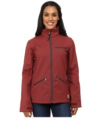 Carhartt Crowley Jacket Cinnamon Red Dark Shale Lining Women's Jacket