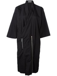 Julien David Oversized Coat Black