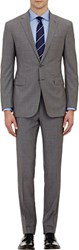 Ralph Lauren Black Label Two Button Nigel Suit Grey