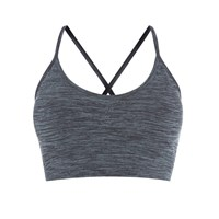 Pepper And Mayne Seamless Compression Bralette New Denim Grey