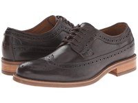 Trask Fiske Bourbon Steer Men's Lace Up Wing Tip Shoes Brown
