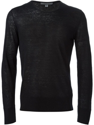 John Varvatos Crew Neck Sweater Blue