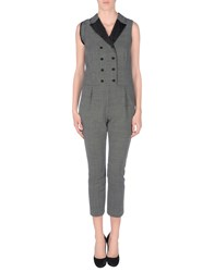 Daniele Alessandrini Dungarees Trouser Dungarees Women Steel Grey