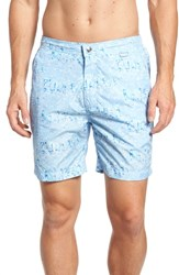 Peter Millar Sardinia Streets Swim Trunks Blue Ceillo