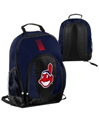 Forever Collectibles Cleveland Indians Prime Time Backpack Navy