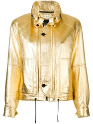 Saint Laurent Jacket Metallic