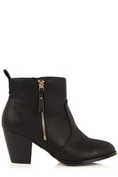 Oasis Abigail Ankle Boot Black