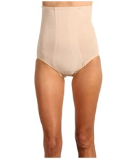 Miraclesuit Extra Firm Shape With An Edge Hi Waist Brief Nude Women's Underwear Beige