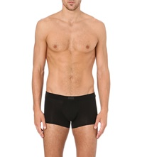 Zegna Stretch Cotton Trunks Black