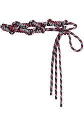 Dries Van Noten Rope Belt Red