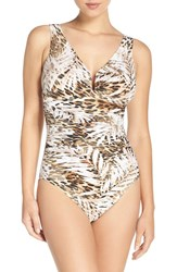 Miraclesuitr Women's Miraclesuit 'Safari' Underwire One Piece Swimsuit