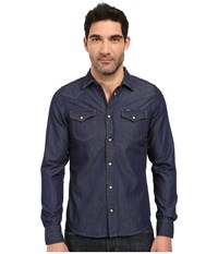 Diesel New Sonora E Shirt Denim Men's Long Sleeve Button Up Blue