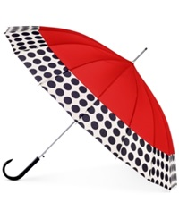Shedrain 16 Panel Auto Stick Umbrella Red Spot On