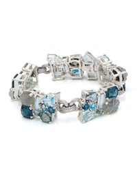 Stephen Dweck One Of A Kind Gray And Blue Stone Bracelet