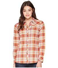 Outdoor Research Jolene Snap Front Shirt Ember Clothing Orange
