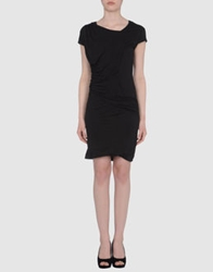 Misericordia Short Dresses Black