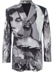 Jean Paul Gaultier Vintage 'La Culture Noire Et Sa Force' Blazer Grey