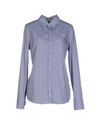 Fred Perry Shirts Shirts Women Blue