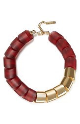 Lafayette 148 New York Women's Mixed Link Necklace