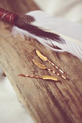 Free People Feather Bobby Pin Set