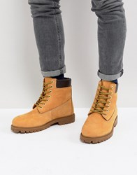 Dickies Fort Worth Lace Up Boot Tan