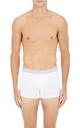 Hanro Men's Two Pack Jersey Boxer Briefs White
