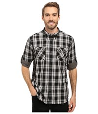 Timberland Double Layer Plaid Shirt Forged Iron Men's Clothing Taupe