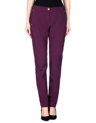 Rena Lange Casual Pants Purple