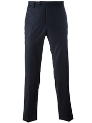 Al Duca D'aosta 1902 Straight Leg Tailored Trousers Blue