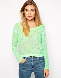 American Retro Laura Jumper Green