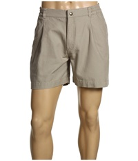 Royal Robbins Classic Billy Goat Cotton Canvas Short Khaki Men's Shorts