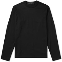 Mastermind World Long Sleeve Contrast Skull Logo Tee Black
