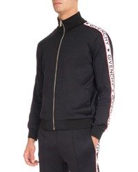 Givenchy Track Jacket With Logo Taping Black