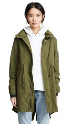 Penfield Pancho Parka Olive