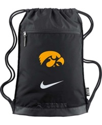 Nike Iowa Hawkeyes Training Gym Bag Team Color