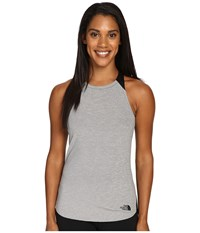 The North Face Dynamix Tank Top Tnf Dark Grey Heather Tnf Black Women's Sleeveless