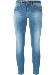 Dondup Washed Skinny Jeans Blue