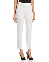 Basler Techno Ankle Pants White
