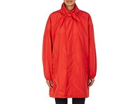 Balenciaga Women's Tech Taffeta Overized Windberaker Red