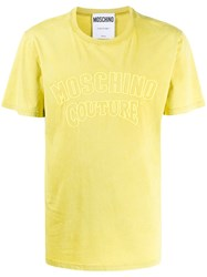 Moschino Embroidered Logo T Shirt 60