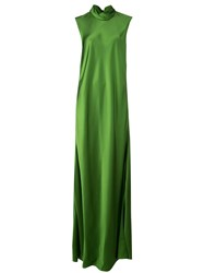 Maison Rabih Kayrouz Cowl Neck Dress Green