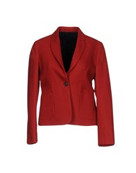 Laurence Dolige Blazers Red