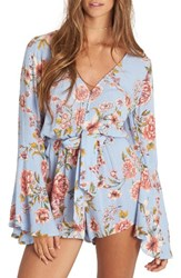 Billabong Women's Sittin Pretty Floral Print Romper