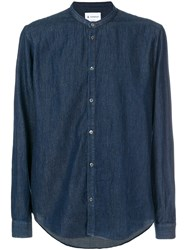 Dondup Classic Fitted Shirt Blue